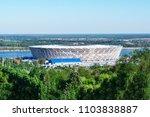 volgograd  russia   27 may 2018 ... | Shutterstock . vector #1103838887