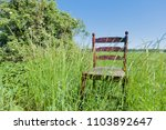 golden mahogany chair on the...   Shutterstock . vector #1103892647