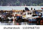 poole harbour  dorset  england  ...   Shutterstock . vector #1103968733
