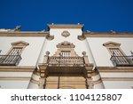 bullfight arena  plaza de toros ... | Shutterstock . vector #1104125807
