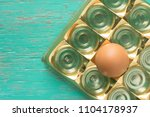 close up view of raw chicken...   Shutterstock . vector #1104178937
