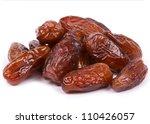 fresh dates over white... | Shutterstock . vector #110426057