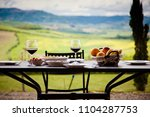lunch with a view   table... | Shutterstock . vector #1104287753