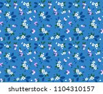 cute floral pattern in the... | Shutterstock .eps vector #1104310157
