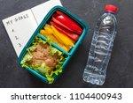 healthy food concept  | Shutterstock . vector #1104400943