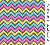 seamless fashion zigzag pattern.... | Shutterstock .eps vector #1104408167