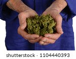 in the hands of a senior ... | Shutterstock . vector #1104440393