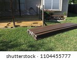 Small photo of building a backyard deck with composite deck boards