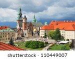 Krakow  Poland. Wawel Cathedra...