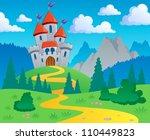 castle theme landscape 1  ... | Shutterstock .eps vector #110449823