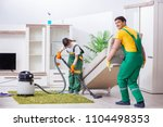 cleaning professional... | Shutterstock . vector #1104498353
