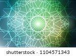 light green vector doodle... | Shutterstock .eps vector #1104571343