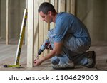 young professional worker uses... | Shutterstock . vector #1104629003