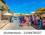 marsaxlokk  malta  april 30 ... | Shutterstock . vector #1104678107