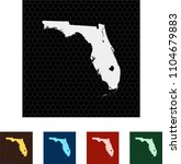 map of florida   Shutterstock .eps vector #1104679883