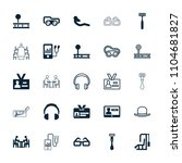 personal icon. collection of 25 ... | Shutterstock .eps vector #1104681827