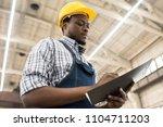 waist up portrait of... | Shutterstock . vector #1104711203