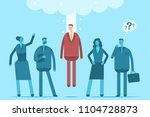 hire employees concept... | Shutterstock .eps vector #1104728873