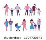 vector illustration in flat... | Shutterstock .eps vector #1104730943