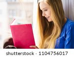 leisure  literature and people... | Shutterstock . vector #1104756017