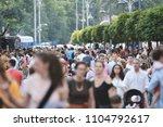 bucharest  romania   june 02 ... | Shutterstock . vector #1104792617