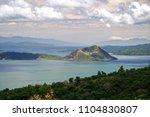 beautiful landscape at tagaytay ...   Shutterstock . vector #1104830807