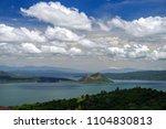 beautiful landscape at tagaytay ...   Shutterstock . vector #1104830813