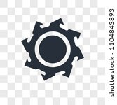 saw blade vector icon isolated... | Shutterstock .eps vector #1104843893
