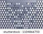 monochrome abstract 3d...   Shutterstock . vector #1104866753