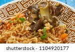 Small photo of Rajasthani Laal Maas , Rajasthani Red Lamb Curry , Rajasthan is a state in Indian