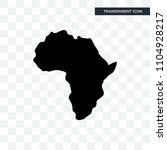 african continent outline on... | Shutterstock .eps vector #1104928217