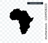 african continent outline on... | Shutterstock .eps vector #1104928223