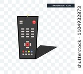 tv remote vector icon isolated... | Shutterstock .eps vector #1104932873