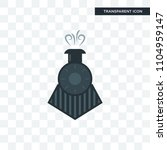 locomotive vector icon isolated ... | Shutterstock .eps vector #1104959147