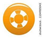 lifebuoy icon. simple... | Shutterstock .eps vector #1104985043