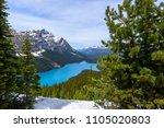 Beautiful Nature view of Peyto Lake in Banff National Park, Alberta, Canada