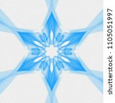 Creative Light Blue Mandala....