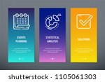 events planning  statistical...   Shutterstock .eps vector #1105061303