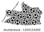 football kaliningrad region map....   Shutterstock .eps vector #1105124303
