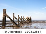 Essex Uk Southend Low Tide At...