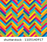 colorful mosaic in parquet form.... | Shutterstock .eps vector #1105140917