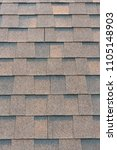 shingles roof background and... | Shutterstock . vector #1105148903