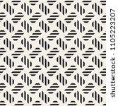 trendy monochrome twill weave... | Shutterstock .eps vector #1105223207