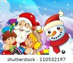 the presentation of christmas   ... | Shutterstock . vector #110532197