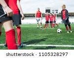 full length portrait of junior... | Shutterstock . vector #1105328297