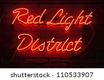 Red Light District Neon Sign I...