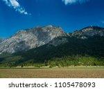 mountains near town kemer ...   Shutterstock . vector #1105478093