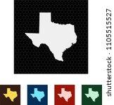 map of texas   Shutterstock .eps vector #1105515527
