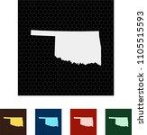 map of oklahoma   Shutterstock .eps vector #1105515593