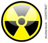 vector radiation symbol | Shutterstock .eps vector #110557847